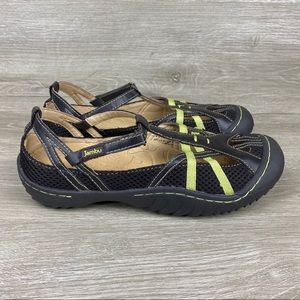 Jambu Shoes - Jambu Mesh Dart Vegan Trail Sandals Womens Size 7